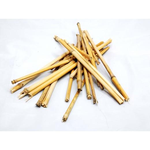 Kawałki tyczek bambusowych 50g