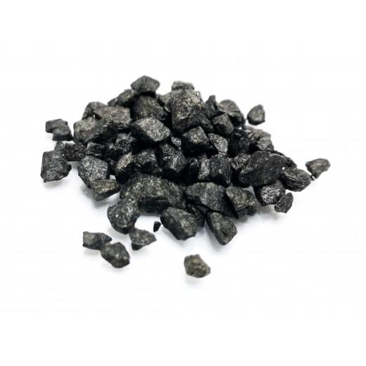 Średni czarny żwir 200 g